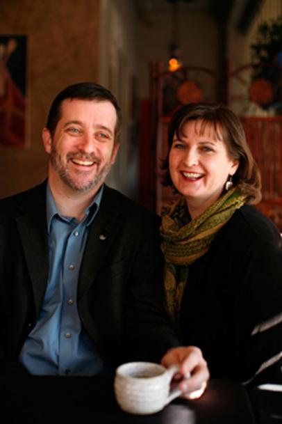 Kurt & Kim Friese, Publishers of Edible Iowa River Valley