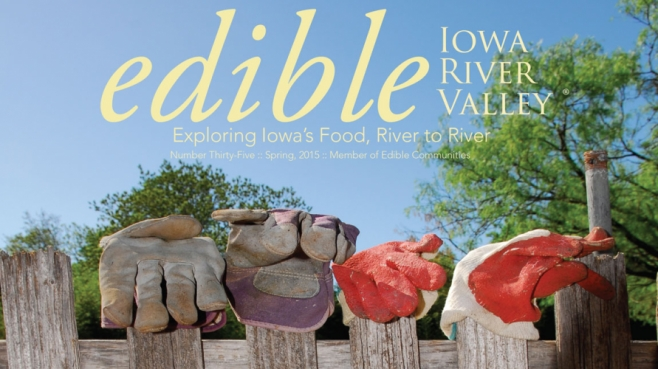 Edible Iowa River Valley #35, Spring 2015